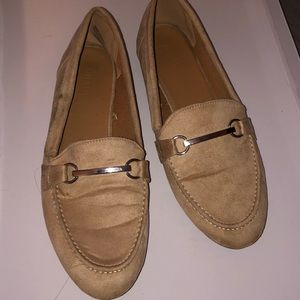 suede Flats for work